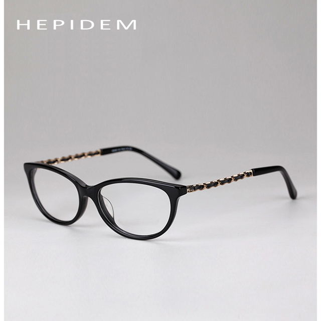 2017 Brandy HEPIDEM elegante Frame Ótico armações de óculos de olho óculos óculos de marca quadros mulheres 3221 óculos óculos para as mulheres