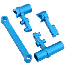 102057 102257 122057 Aluminum Steering Servo Saver Complete For HSP Redcat Exceed font b RC b