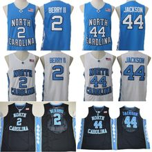 533180eef45 Joel Berry II 22 Justin Jackson 44 Tar Heels North Carolina College  Basketball Jersey Stitched Men Basketball shirt S-3XL