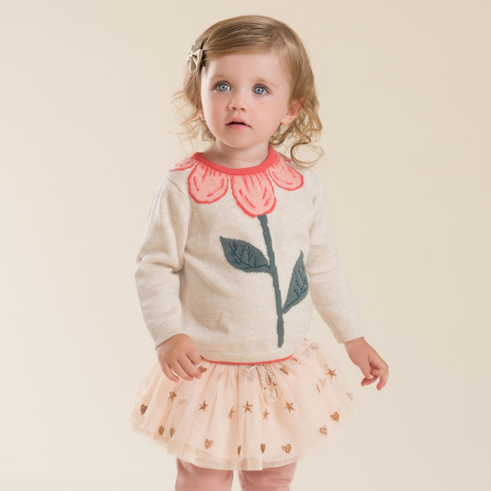 722d423a0 DB4013 dave bella autumn baby girl sweet design sweater toddler ...