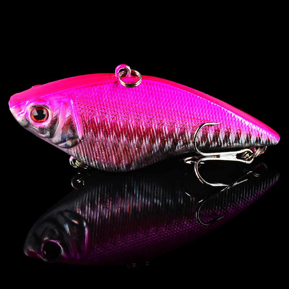 1 шт. 7,5 см 17 г рыболовная приманка зимняя рыболовная твердая приманка VIB с свинцовым внутри зимняя Морская рыбалка приманка рыболовный воблер, блесна