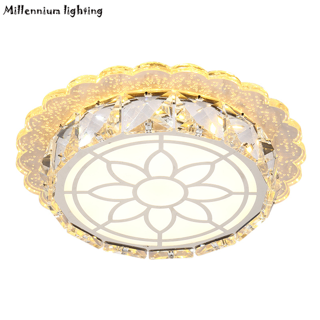 LED Decke Lichter Für Korridor Balkon Moderne Spiegel Kristall ...
