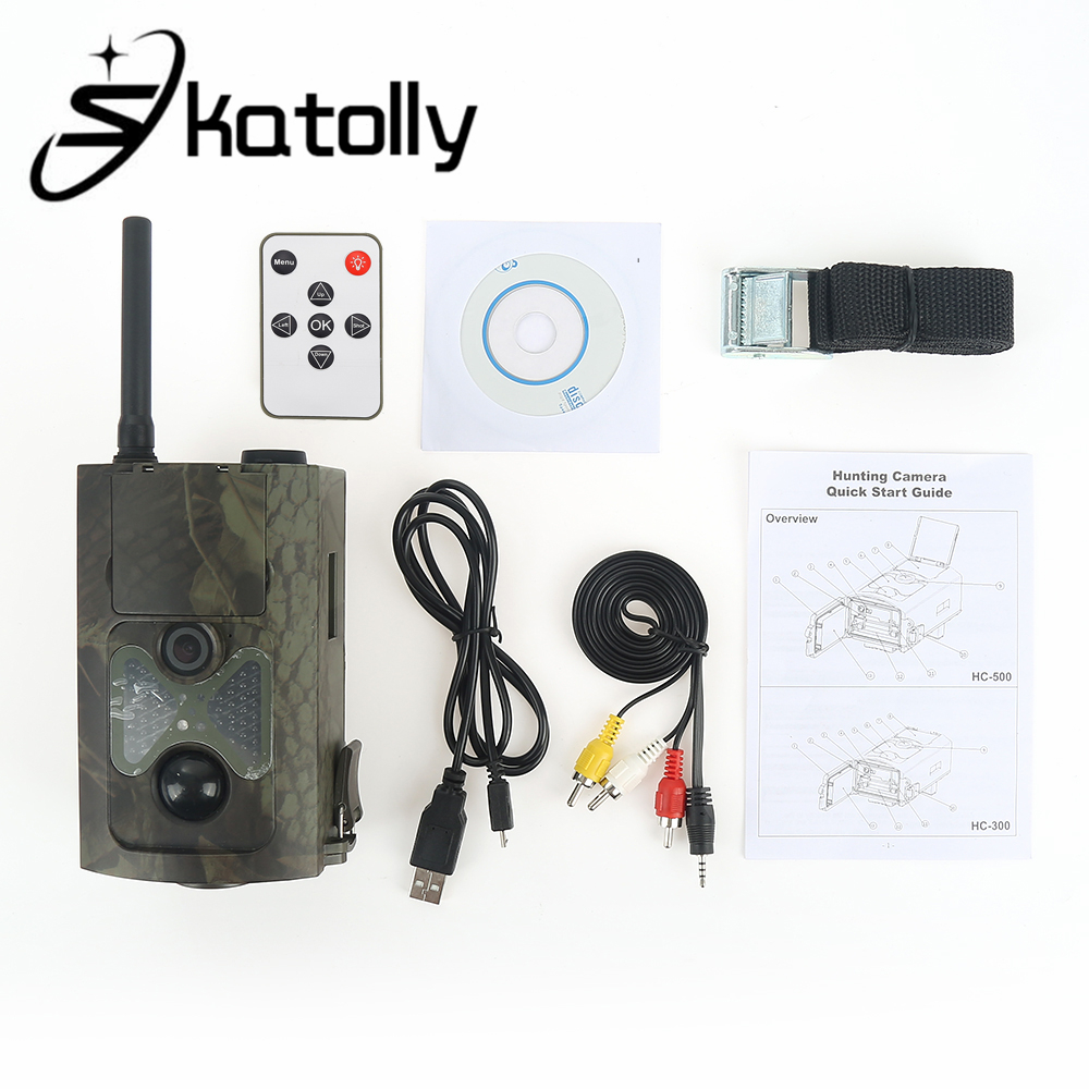Skatolly Outdoor HC-500M Hunting Trail Camera For Wildlife Photo Trap With 48Pcs Night Vision Infrared LEDs Video 12MP HD Camera free shipping wildlife hunting camera infrared video trail 12mp camera