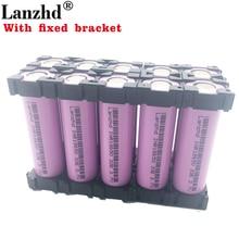 1-10PCS 18650 Batteries 3.7V Li ion 3300mAh 30A 18650VTC7 battery and fixed bracket Holder with Splicing Bracket