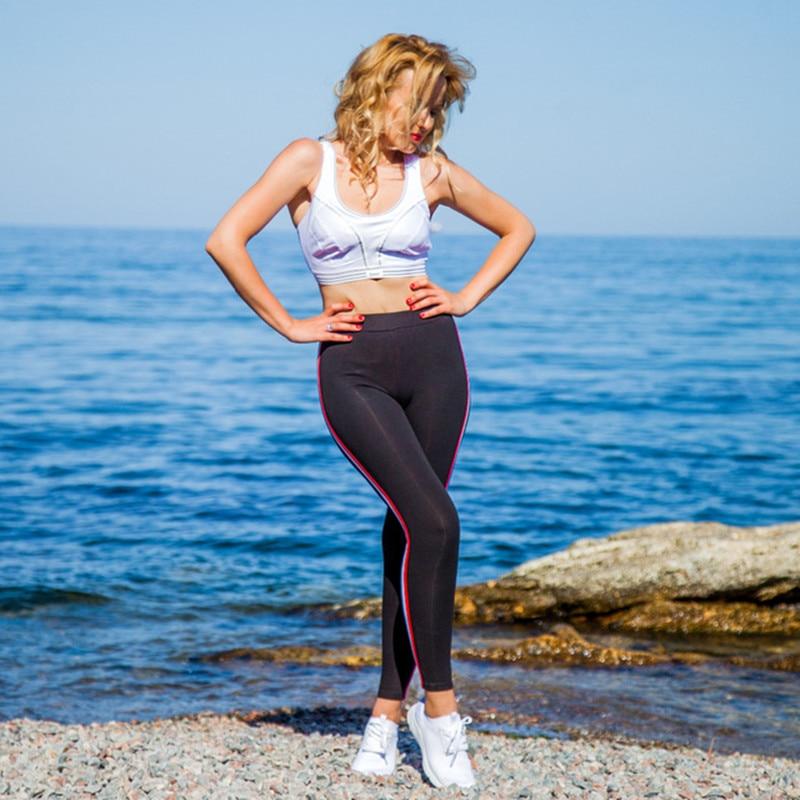 High Quality Cotton Leggings Side stripes Women Casual Legging Pant Plus Size 5XL High Waist Fitness Leggings Plump Female 6
