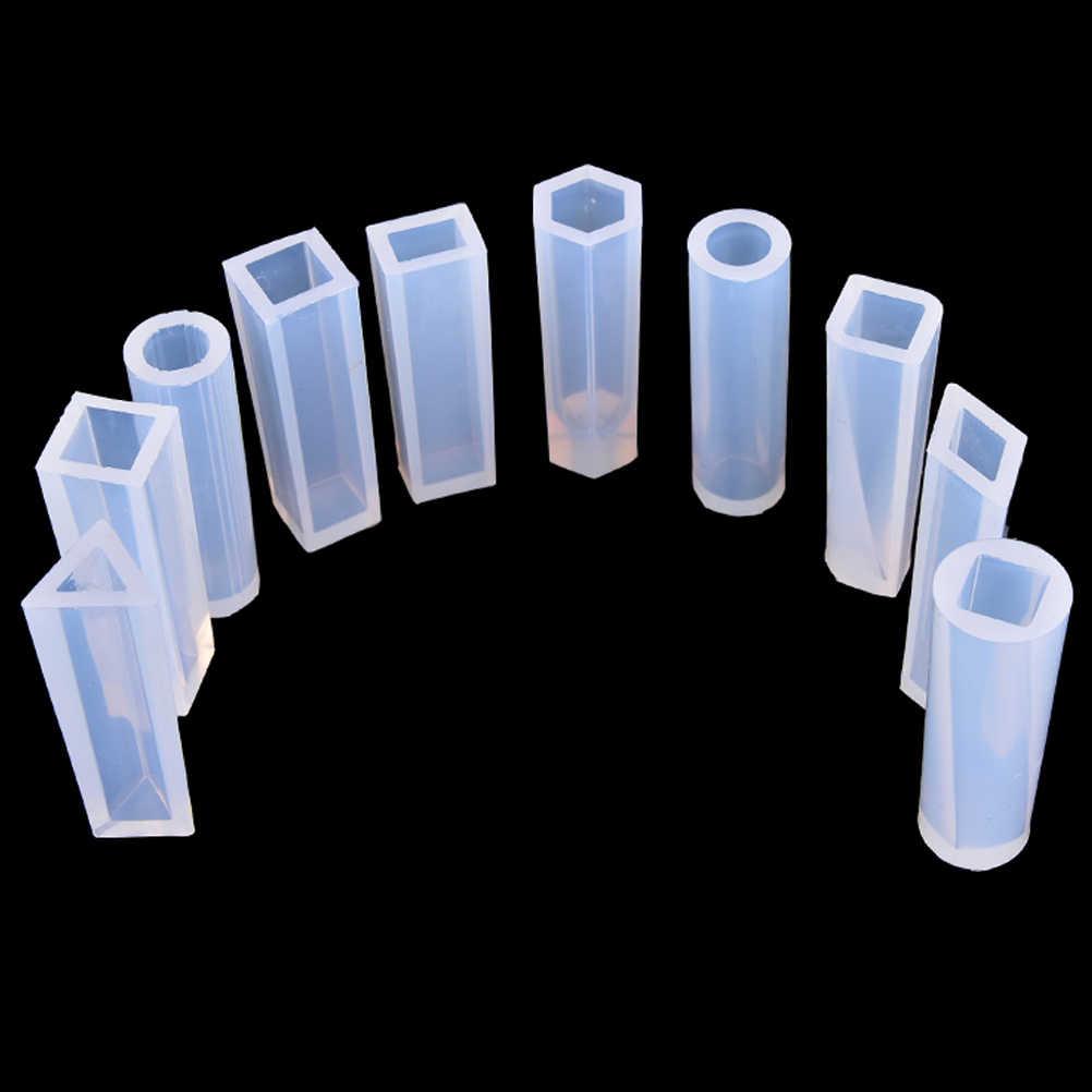 1 قطعة قلادة Liquid بها بنفسك السائل قالب من السيليكون الراتنج دلاية مجوهرات قالب اليدوية أدوات الديكور الكريستال تصميم