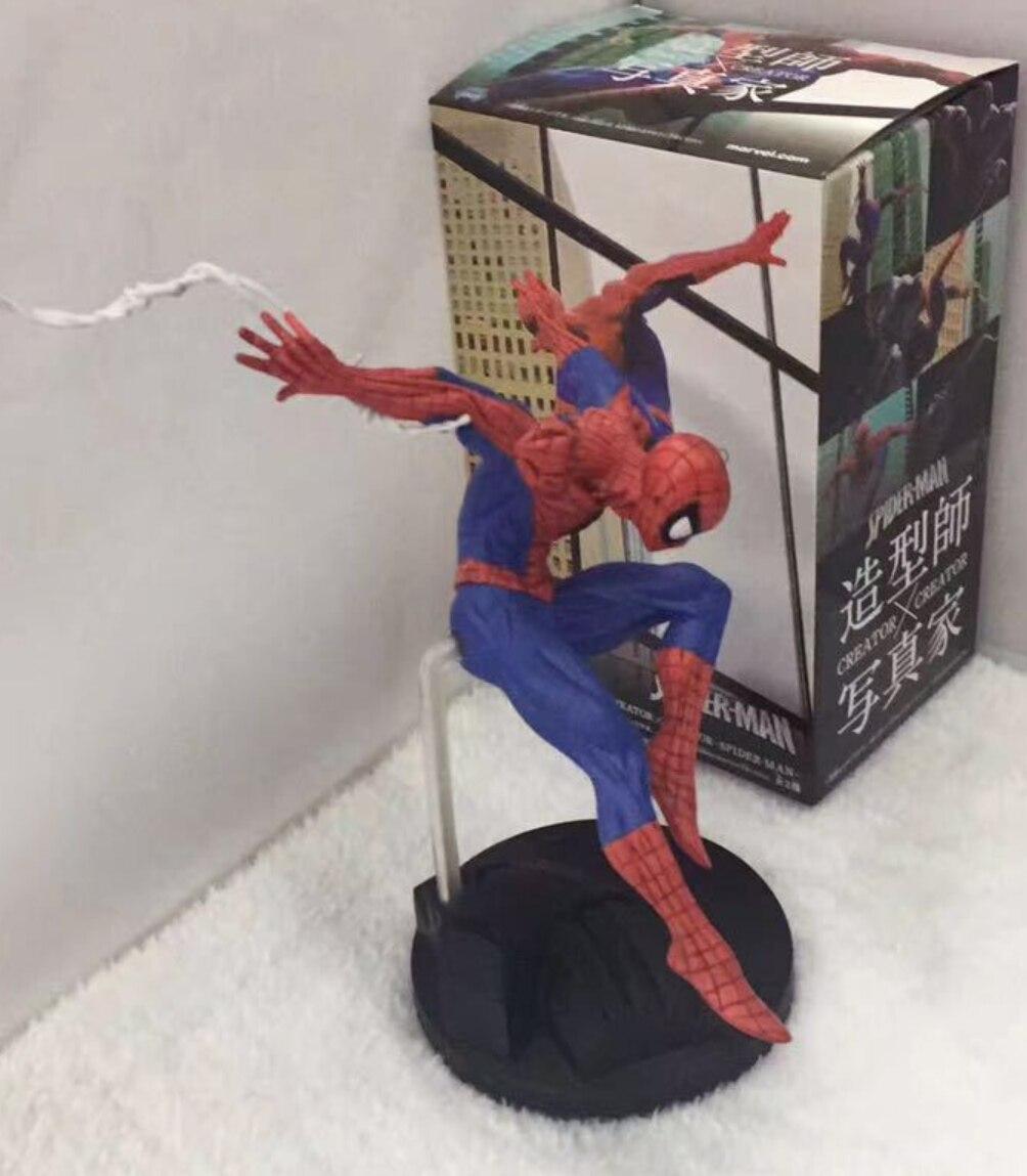 SHFiguarts Marvel Человек-паук выпускников паук Герой фигурку игрушки 15 см