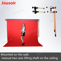 MB-10 manual two-axis lifting shaft background lift shooting background axis wedding photography camera background fram CD50 T08