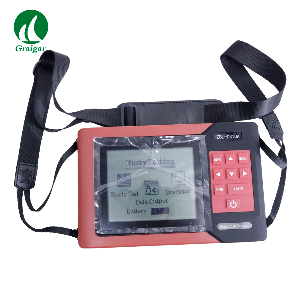 High Precision Rebar Scanner ZBL-C310A Rebar Corrosion Detector Rebar Locator Data Storage Store 234 Points image