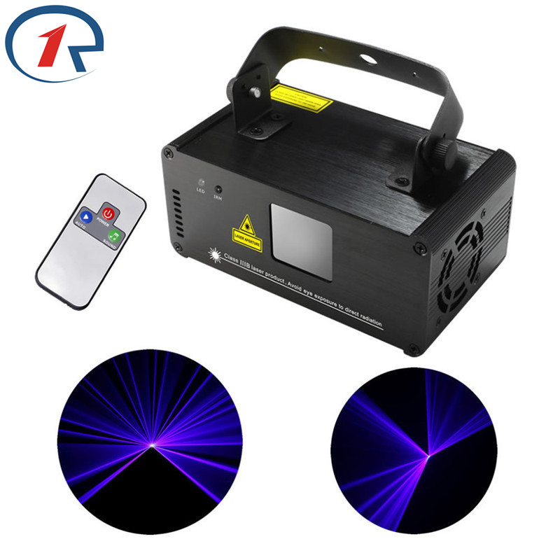 ZjRight IR Remote Laser light DMX512 150mW Blue Laser Scanner Effect Stage Lighting Party Club Show Projector Disco effect Light бритва philips rq1145 16