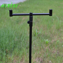 Carp fishing tackle 1pcs fishing rod pod fishing buzz bar with 1pcs fishing buzz bar black color