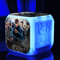 Hot Movie Fantastic Beasts Where to Find Them Newt Queenie Niffler Logo toys & figures Fashion Led ledclock