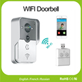 WiFi Wireless Video DoorPhone intercom Doorbell Peehole Camera English/French/Russian PIR Nightvision Alarm USB Music Doorbell
