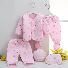 5pcs!  High Quality Baby Clothing Set For 0-3M