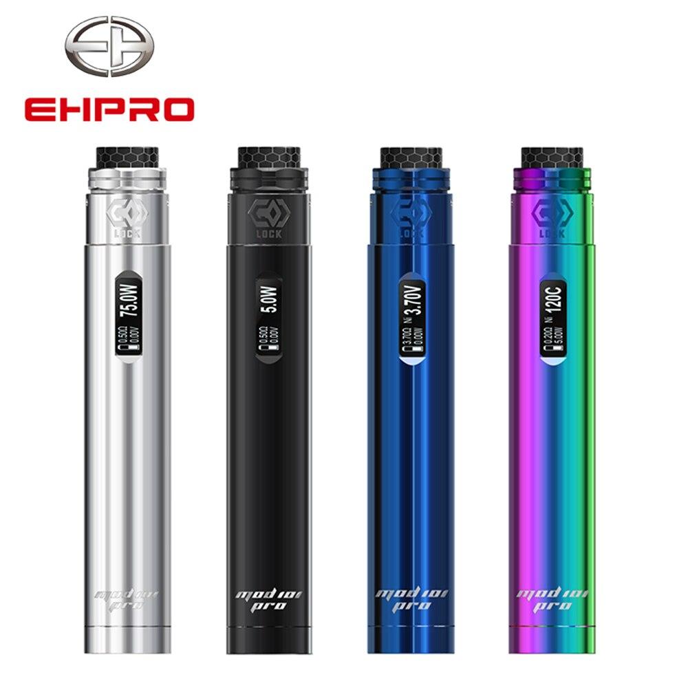 Ehpro Mod 101 Pro Vaporisateur Stylo Kit 510 Fil avec 24mm RDA 20700 21700 18650 Batterie Cigarette Électronique Shisha narguilé Stylo Vaper