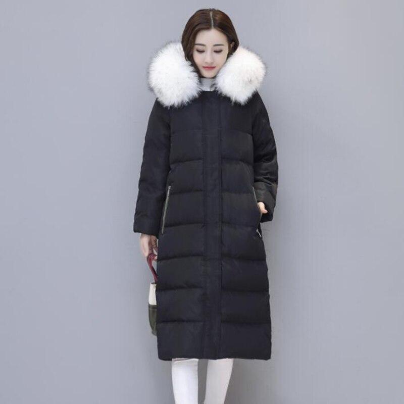 a97e2d4d8e97 длинный пуховик женский купить, Новая мода 2018 зима Для женщин 90 ...
