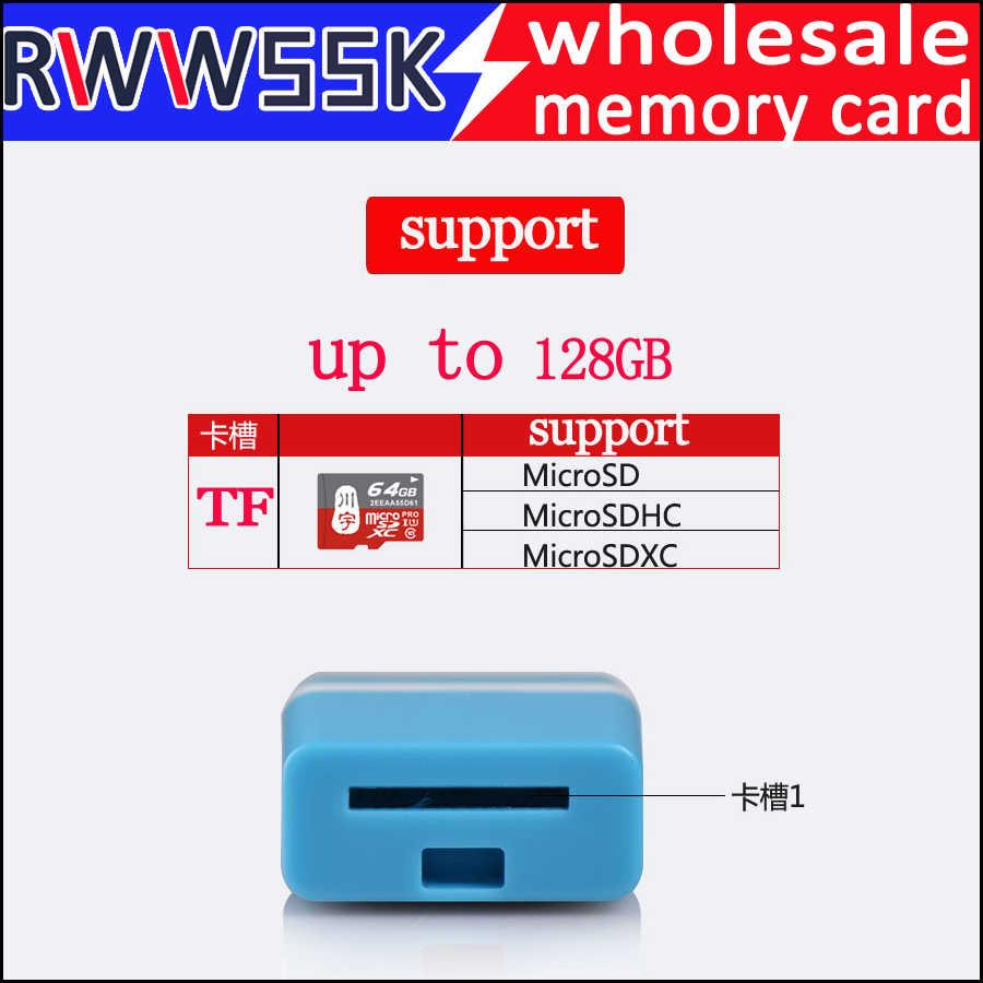 USB 2.0 مايكرو SD SDHC TF ذاكرة فلاش قارئ بطاقات tf بطاقة محول لأجهزة الكمبيوتر المحمول