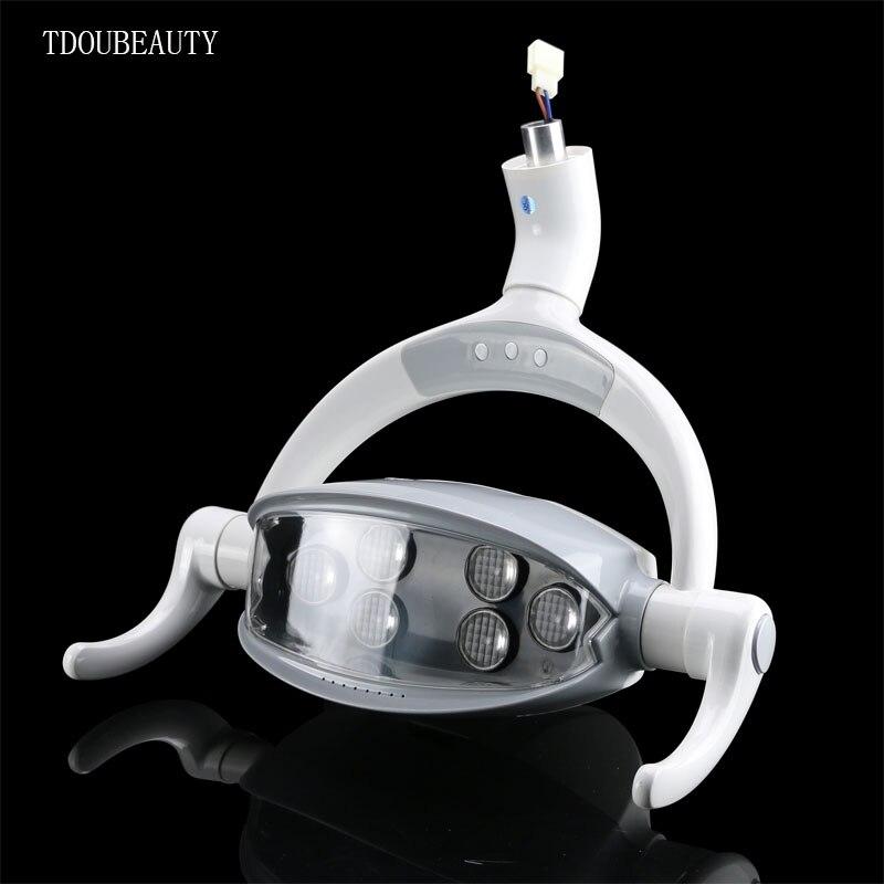 TDOUBEAUTY 12 V-24 V multifonctionnel chaise dentaire lampe dentaire plantation LED Induction lumière jaune blanc lumière librement interrupteur