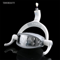TDOUBEAUTY 12V 24V Multifunctional Dental Chair Dental Lamp Planting LED Induction Light Yellow White Light Freely Switch