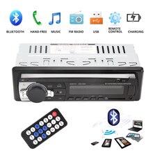 1 Din 2.5 Polegada Carro Rádio Estéreo MP3 Player Multimídia Carro Leitor de áudio Com Controle Remoto Bluetooth Autoradio com USB TF AUX