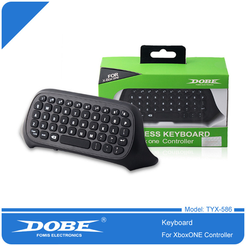 Wireless bluetooth Game Messenger Chatpad Keyboard Keypad Text Pad For Microsoft Xbox one xboxone Controller Video Games gaming