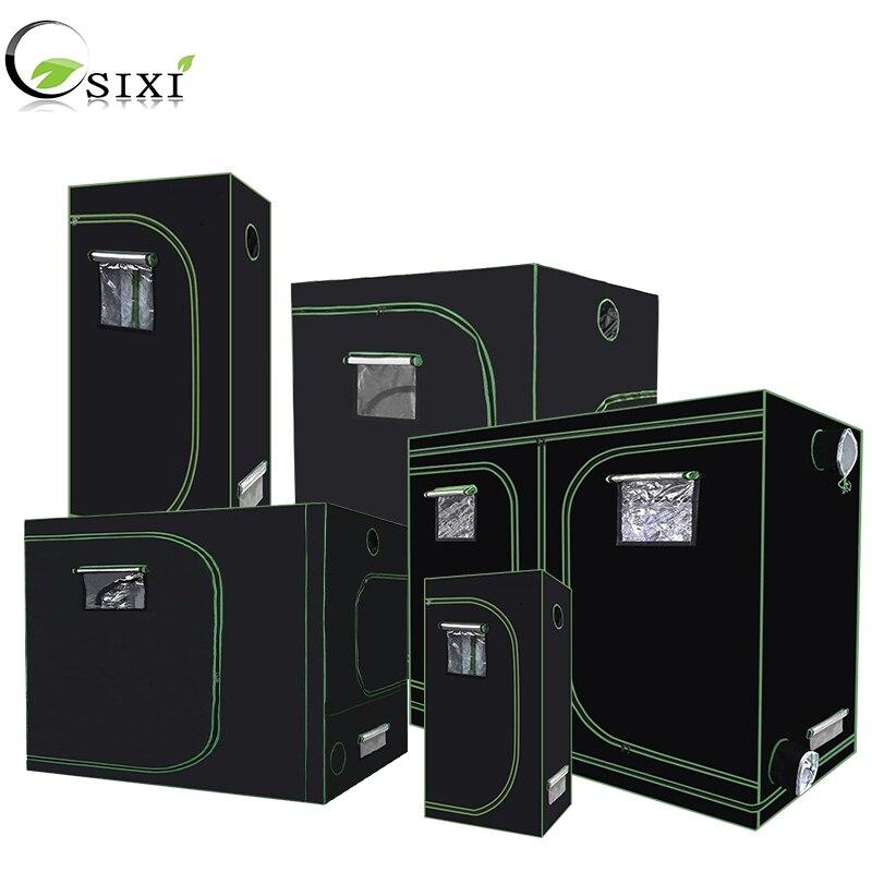 Anlage Zelt 600D Wachsen Zelt Innen Wachsen box 60/80/ 100/120/150/240cm hydrokultur Wachsen zimmer gewächshaus anlage beleuchtung Zelte