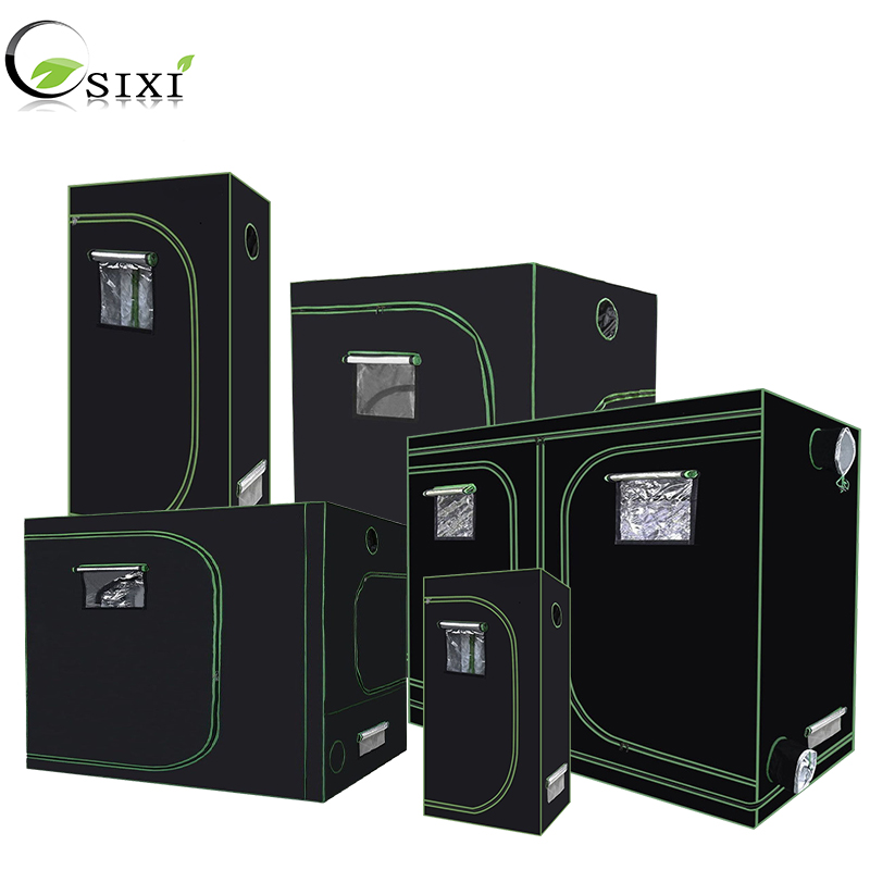 Pianta Tenda 600D Coltiva La Tenda Indoor Grow box 60/80/100/120/150/240 centimetri impianto di illuminazione idroponica Grow room serra Tende
