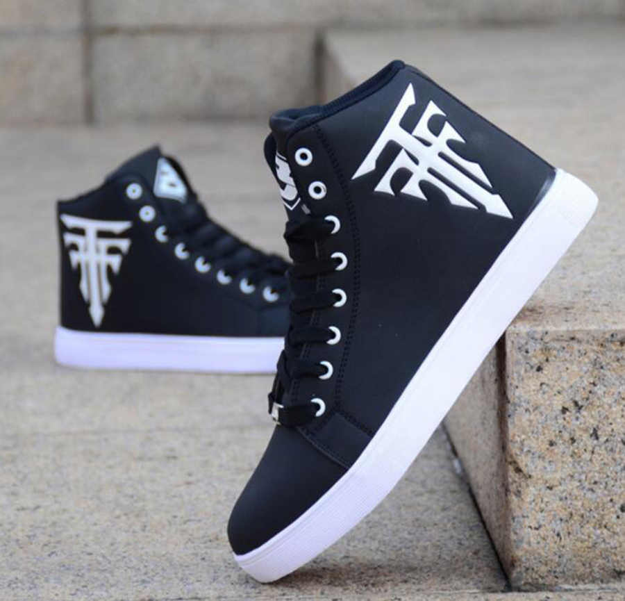 Hot Koop Modellen Explosie Modellen Wit High-Top Schoenen Mannen Skate Schoenen Casual Mode Slijtvaste Stiksels