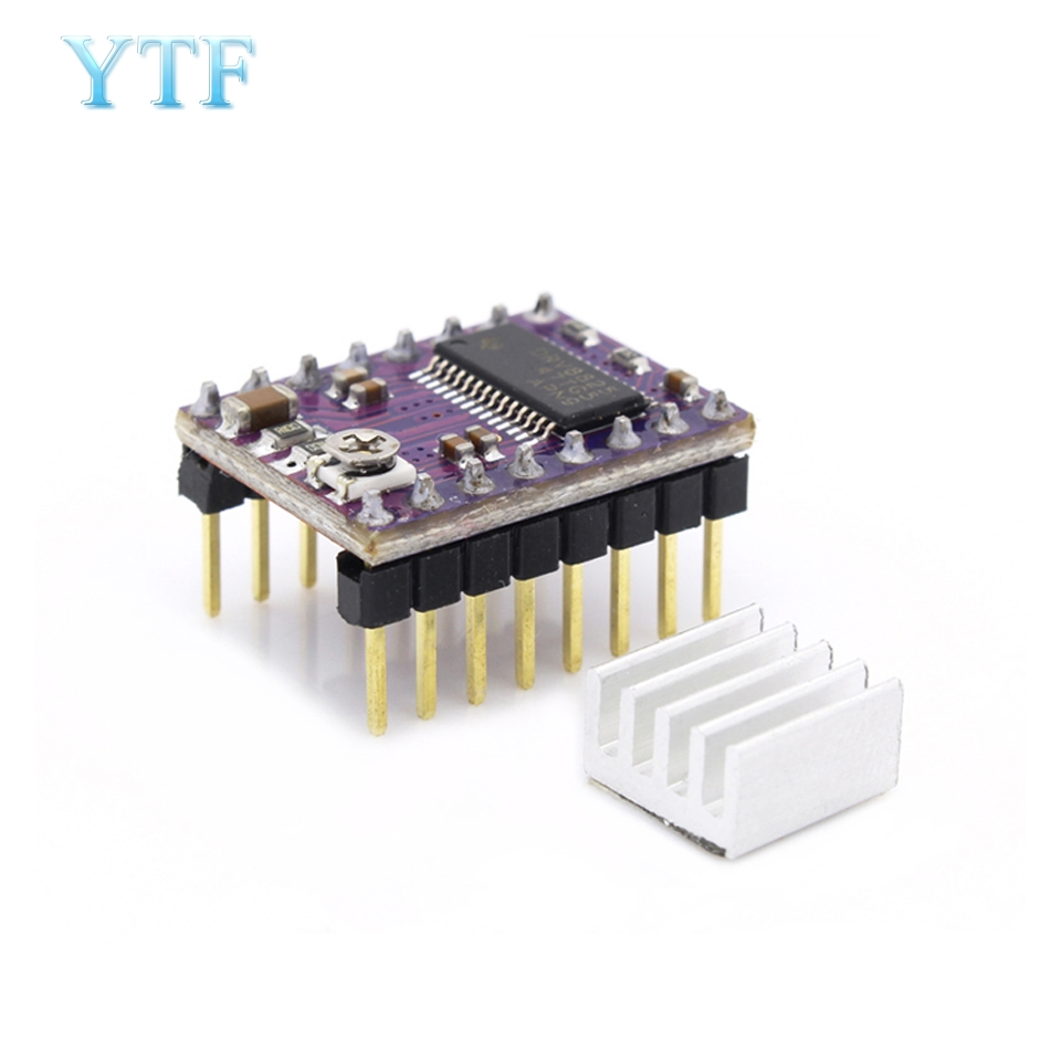 <font><b>3D</b></font> Printer parts Stepstick Drv8825 Stepper Motor Driver Reprap 4 <font><b>PCB</b></font> Board 5pcs/1lot image