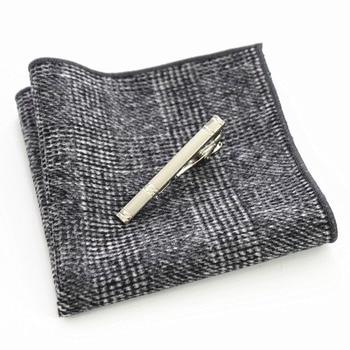 Gammy Wool Hand Made Tie Set – Grey