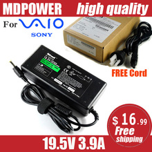 MDPOWER For SONY Laptop computer Energy AC Adapter Charger 19.5V three.9A VGP-AC19V37