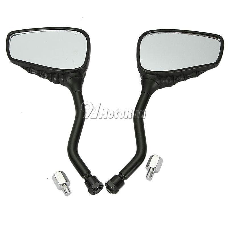 Image 3 - 1 пара мотоциклетных зеркал для Honda Suzuki Kawasaki KTM/Shadow  Spirit VT750 VT1100 VL 700 750 800 1400 1500Боковые зеркала и  аксессуары   -