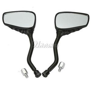 Image 3 - 1 пара мотоциклетных зеркал заднего вида с черепом для Honda Suzuki Kawasaki KTM/Shadow Spirit VT750 VT1100 VL 700 750 800 1400 1500