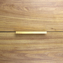 10pcs modern simple cabinet door edge handle wardrobe drawer brushed gold hidden furniture handle kitchen cabinet