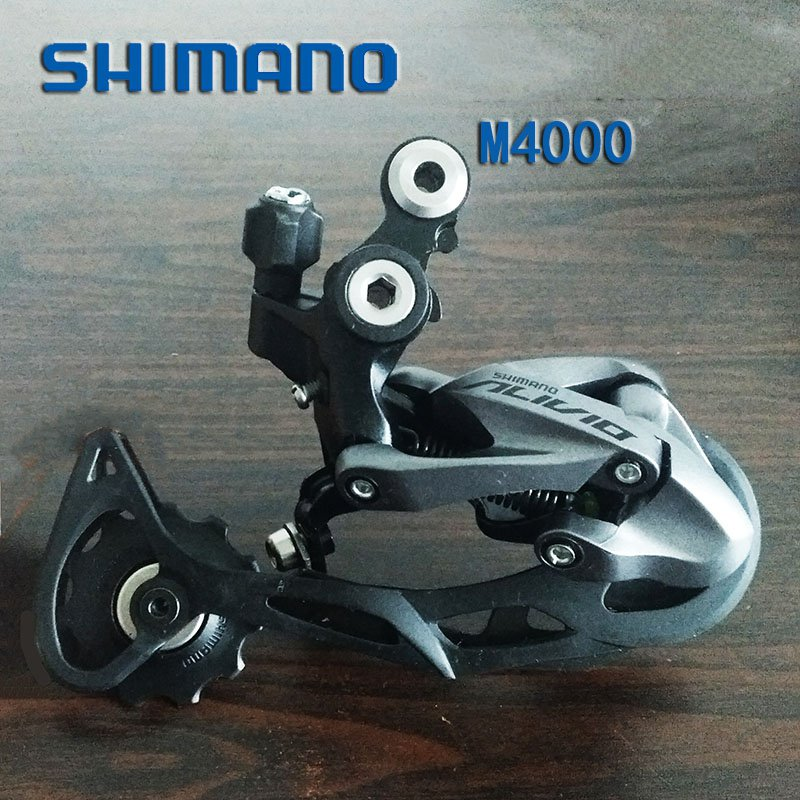 1 PC SHIMANO Altus RD-M370 Rear Derailleur 9//27 Speed SGS Long Cage MTB Bike
