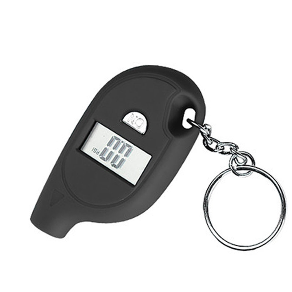 Mini Keychain Digital LCD Tire car Tyre Air Pressure Gauge For Car Auto Motorcycle hot selling