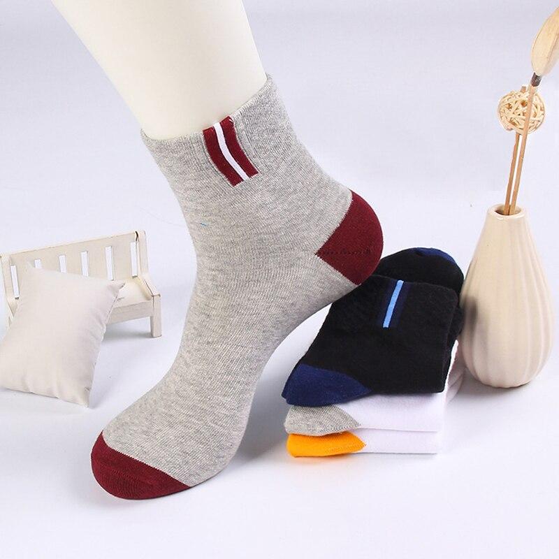 1pair Men Cotton Ankle Socks for Mens Casual Short Dress Socks Meias Homens Breathable Male Slipper Shallow Mouth Business Socks