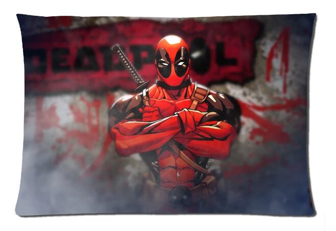 2015 Yeni Tasarim 50x75 Cm Kaliteli Yastik Deadpool Serin Heros