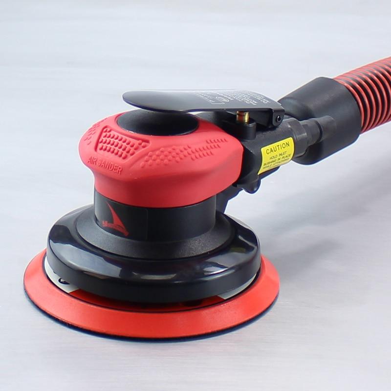 YOUSAILING Vacuum Random Orbital Sander Good Quality 5mm Orbit Polishing Tools 5 Pneumatic Eccentric Sander Car Beauty Tools random orbit sander sturm os8120r