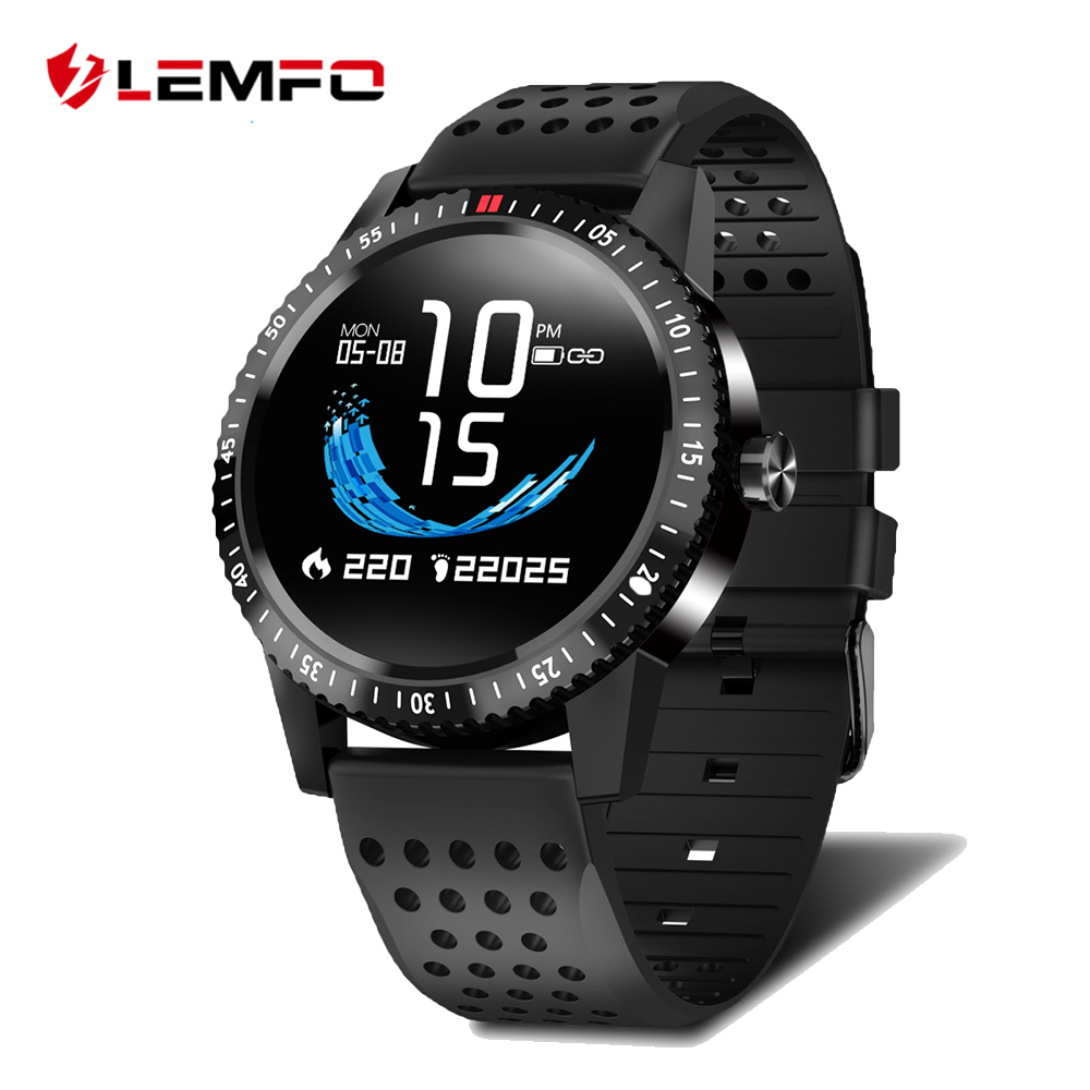 LEMFO T1 Smartwatch IP67 Waterproof Wearable Device Heart Rate Monitor Color Display Smart Watch For Android IOS 30 Days StandbyLEMFO T1 Smartwatch IP67 Waterproof Wearable Device Heart Rate Monitor Color Display Smart Watch For Android IOS 30 Days Standby