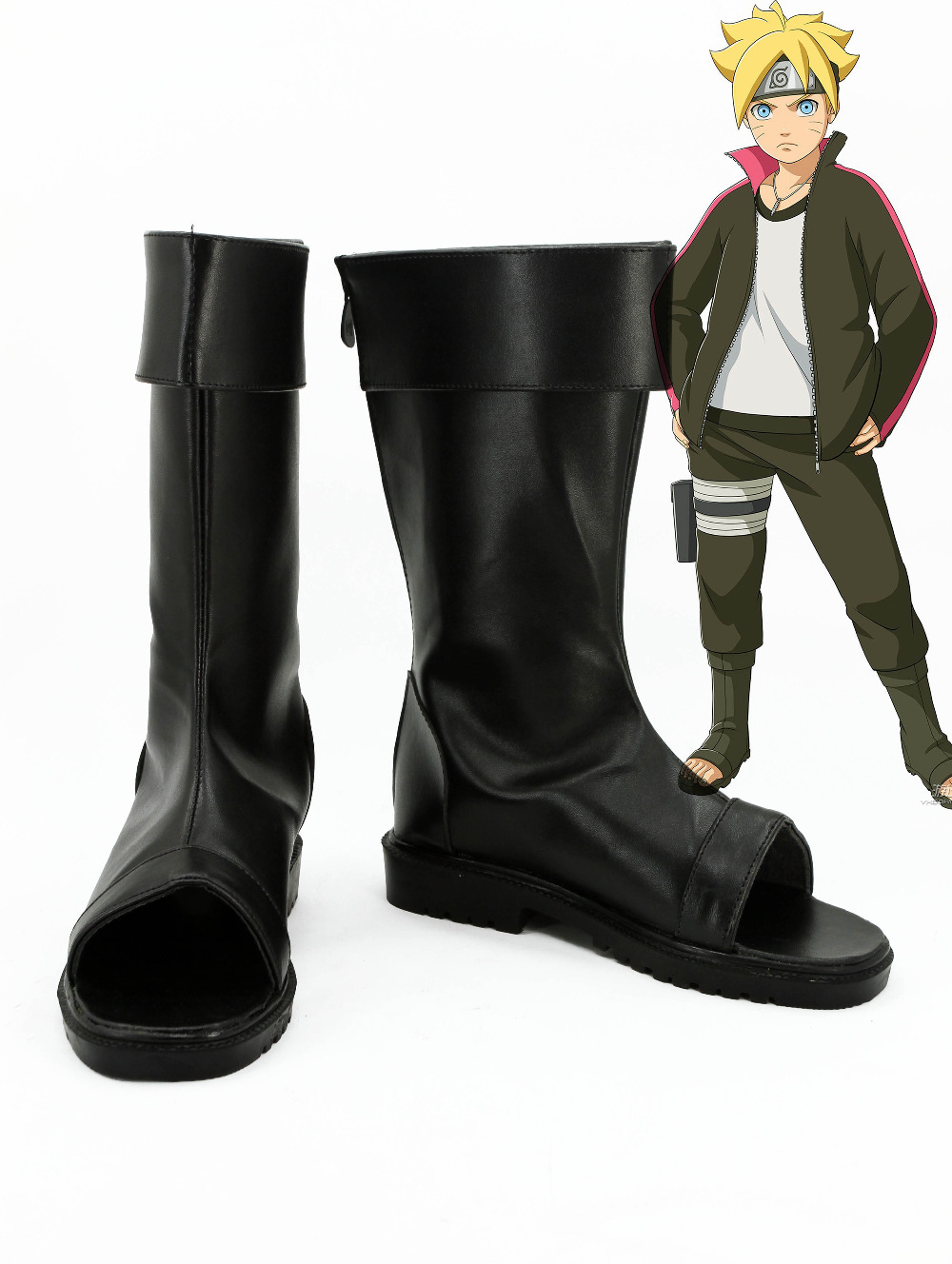 все цены на BORUTO NARUTO THE MOVIE Uchiha Sasuke Cosplay Boots Party Shoes