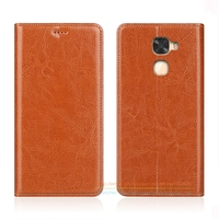 Business Crazy Horse Genuine Leather Case For Letv LeEco Le Cool Changer S1 5 5 Invisible