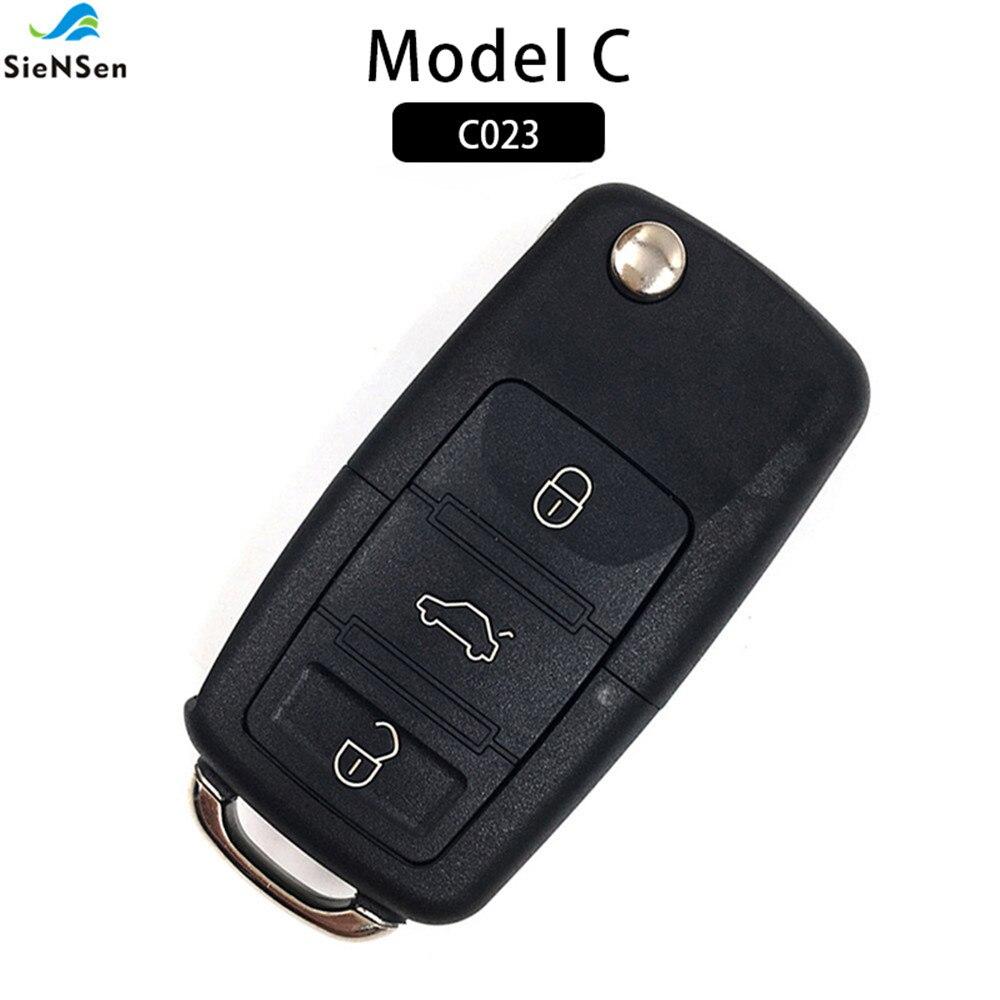 Security & Protection Siensen Hottest Universal 5pcs/lot 3 Buttons Wireless Auto Remote Control Cloning Gate Garage Garden Door Remote Controller C023