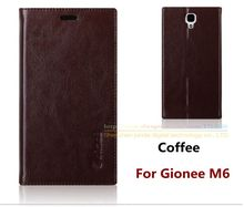 Luxury Top Quality Genuine Leather Stand Fashion Book Style Phone Bag Case For Gionee M6 M 6 GN8003 Flip Cover for gionee m6 m 6