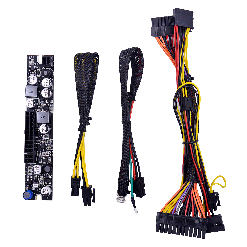 Chipal Dc Lr1107 180w 12v Atx 24pin Switch Psu Adapter Card Mini Itx Computer 24 Pin Wiring Diagram Pc Power Supply Module For Htpc Peak Pico In Cables