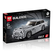 DHL lepin Technic 21046Toys Series Expert Aston Martin DB5 Compatible With 10262 Bricks Model Building Blocks Educational Toys(China)