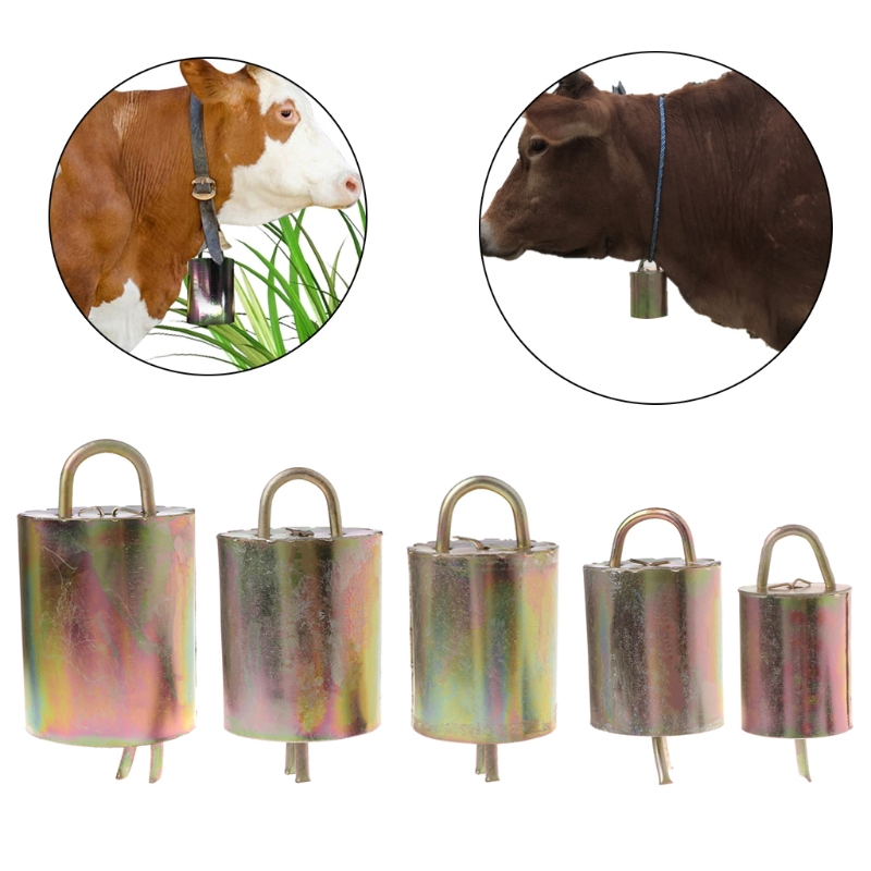 Grazing Bell For Cow Horse Sheep Cattle Thick Hood Improved Version Prevent Loss