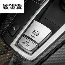 Стайлинга автомобилей центральной ручной тормоз Авто H кнопку декоративная накладка для BMW 5/6/7 серии F10 GT f07 X3 F25 X4 F26 X5X6 Аксессуары