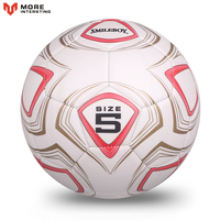 2017 Hot Sale High Quality Size 5 PU Soccer Ball Football Ball For Match Training With