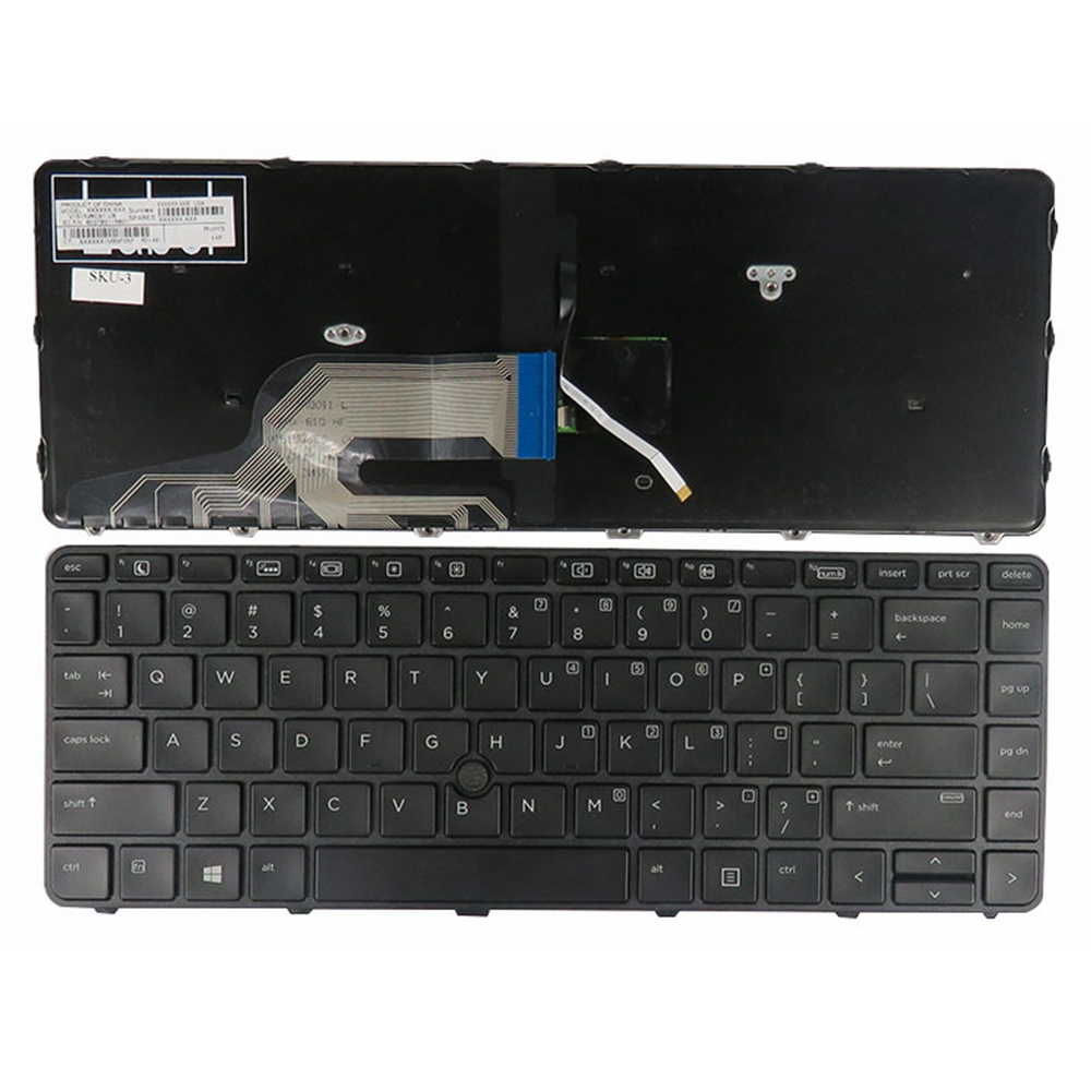US Laptop Keyboard For HP HP Probook 430 G3 440 G3 445 G3 Black New English Backlight 98% N for audi a4 b8 s4 a4 allroad 2008 2009 2010 2011 2012 2013 2014 2015 car styling right side led fog light fog lamp